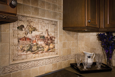 Stone Impressions Murals Listellos And Accent Tiles